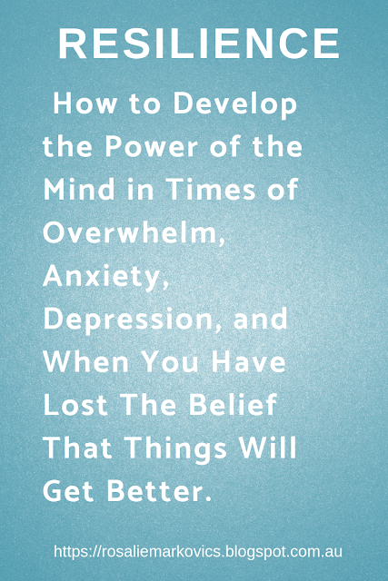 How to develop resilience