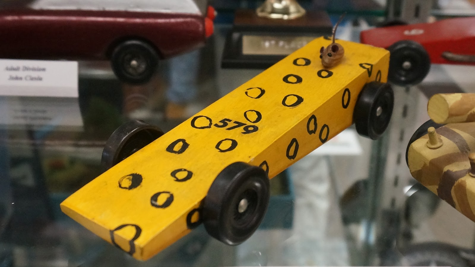 Car Manufacturers Derby Mail: Frankie's Apartment: Old Pinewood Derby Cars