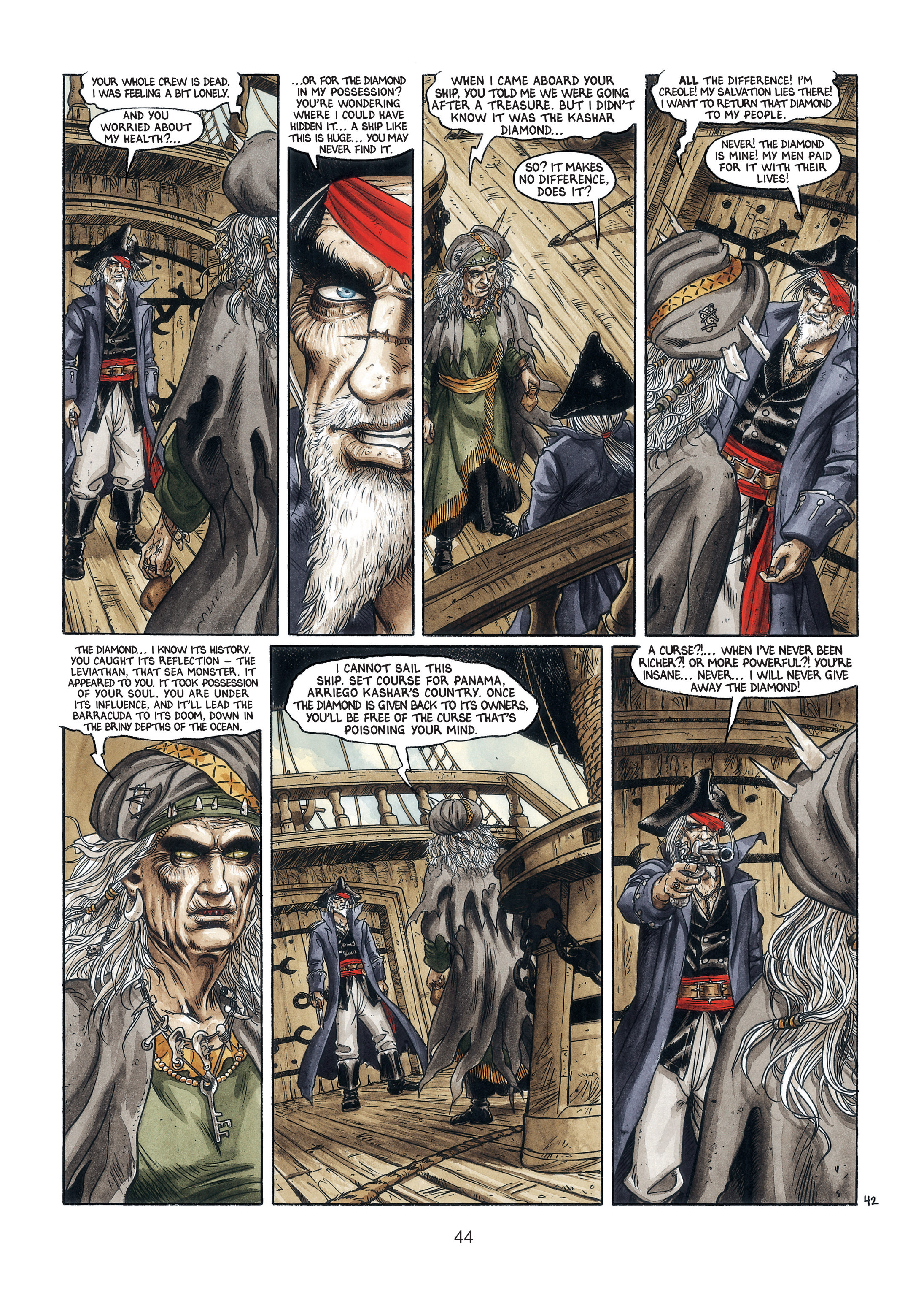 Read online Barracuda comic -  Issue #3 - 45