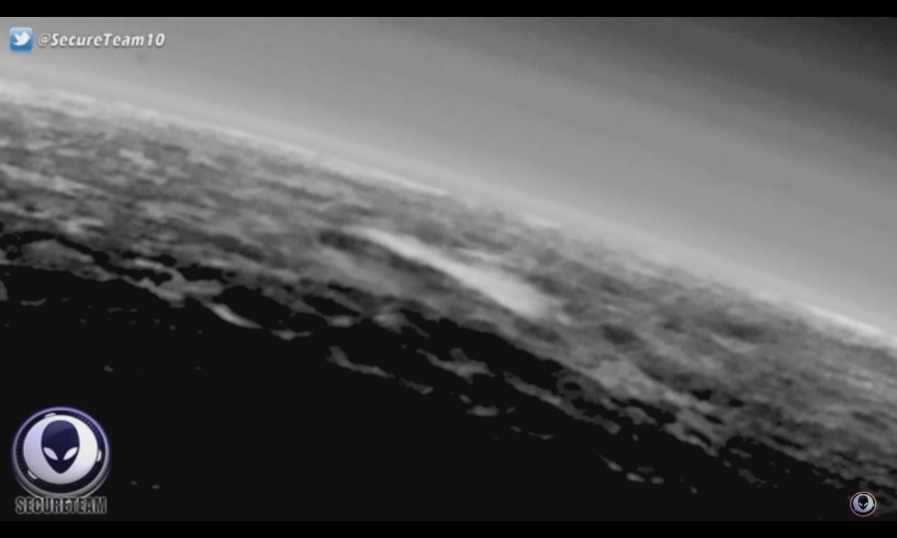 光明會 錫安長老會 聖羅馬帝國和NWO 及森遜密碼驗證: NASA隱藏來自冥王星上某些東西的巨大煙霧拖曳!