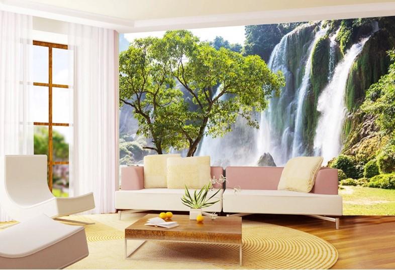 murales de paisajes decorativos para salas decoraci n