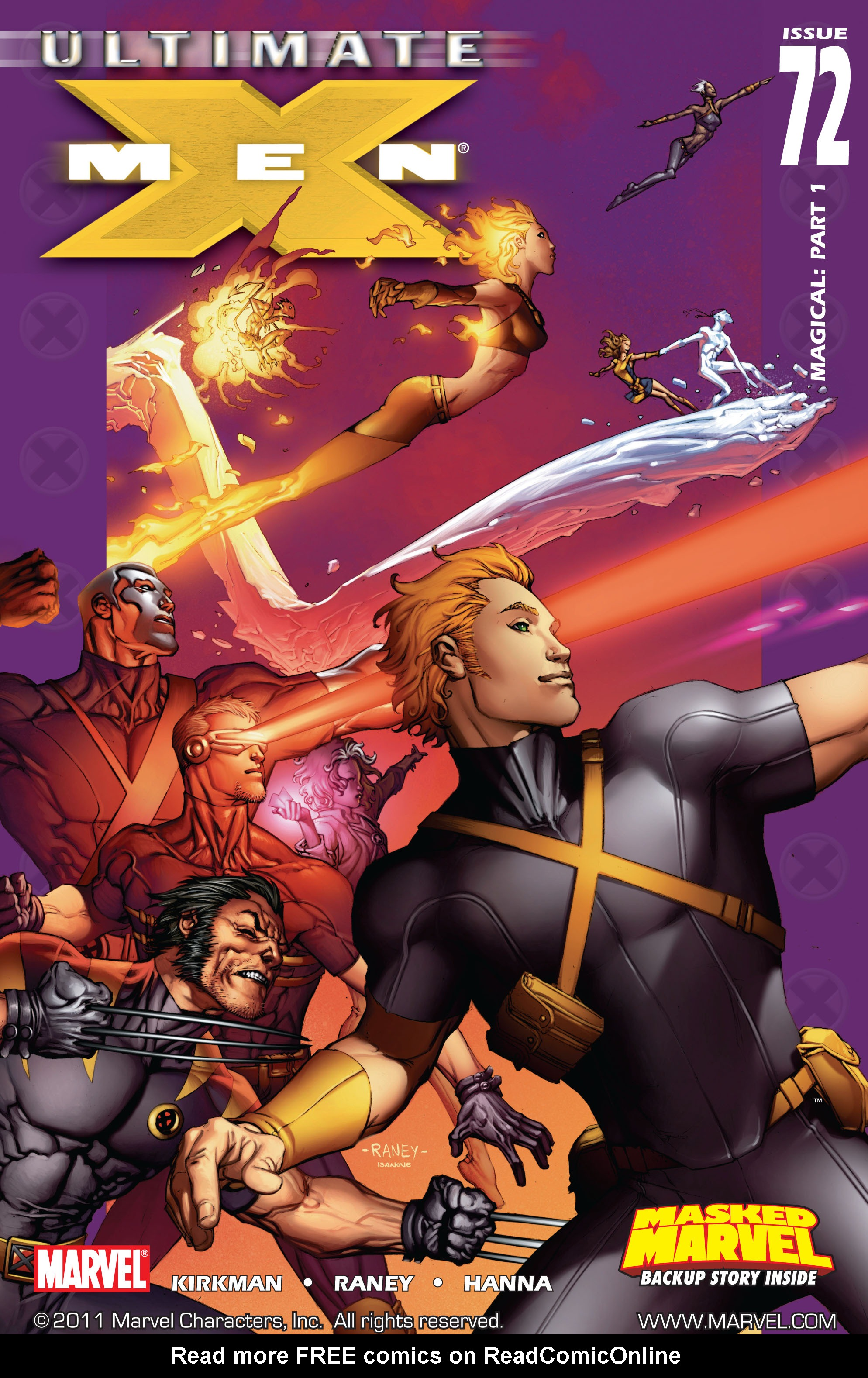 Read online Ultimate X-Men comic -  Issue #72 - 1