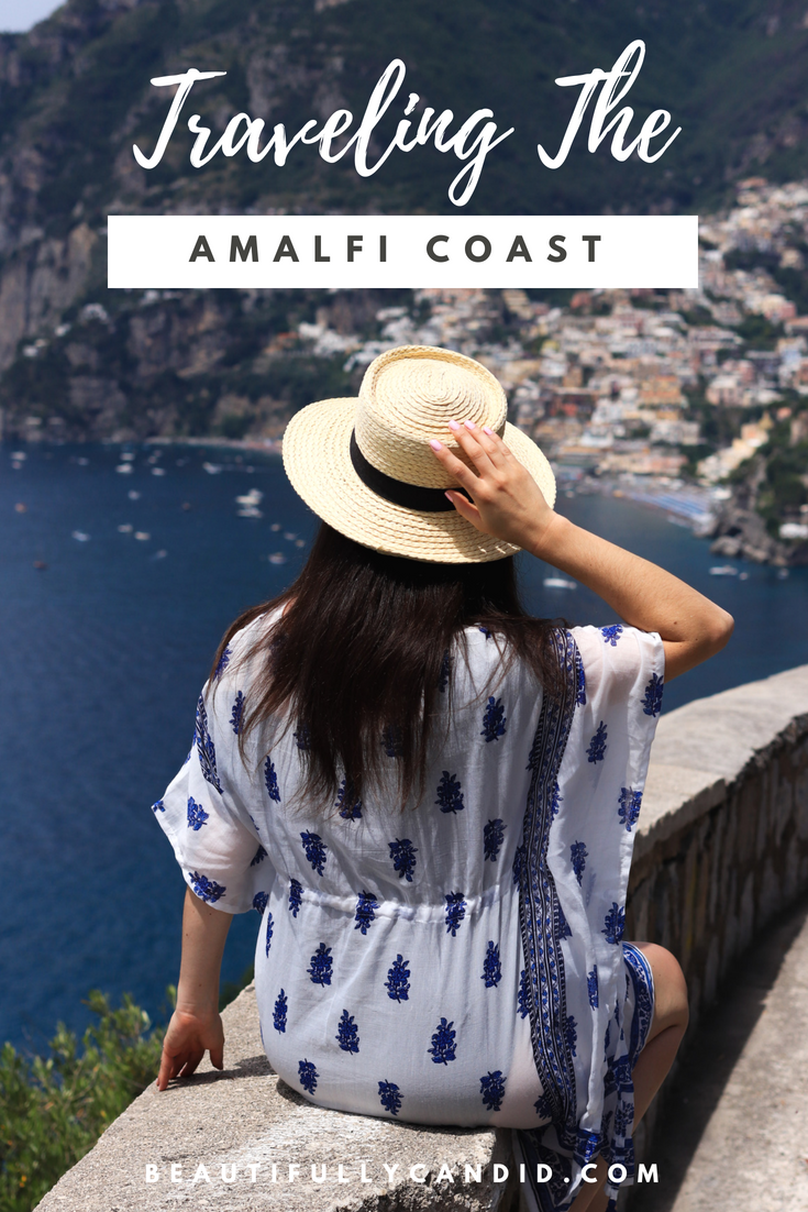 Traveling the amalfi coast