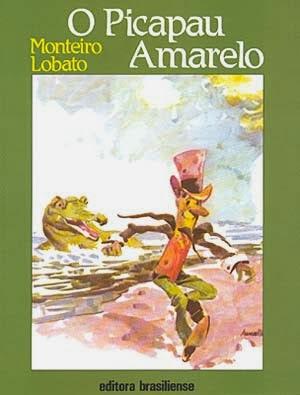 o picapau amarelo - monteiro lobato - editora brasiliense - sítio do picapau amarelo - manoel victor filho - jacob levitinas - década de 1990 - década de 2000 - capa de livro - bookcover