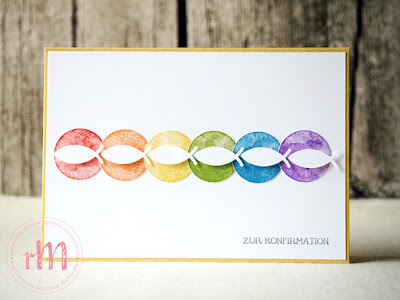 Stampin' Up! rosa Mädchen Kulmbach: Konfirmations- und Kommunionskarten in Regenbogenoptik mit Vielseitige Grüße und Eins für alles