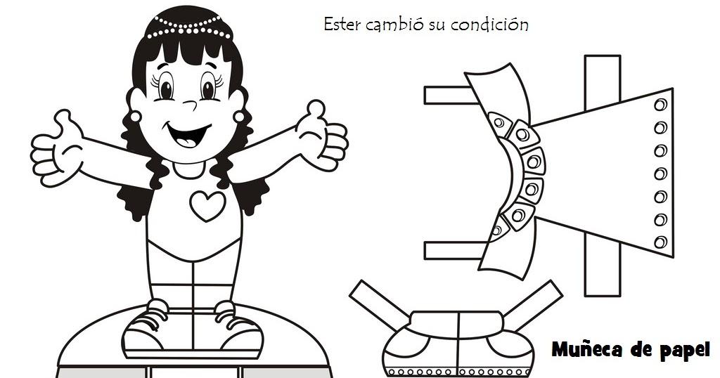 Lujo Pagina Para Colorear De Esther Patrón - Dibujos Para Colorear ...