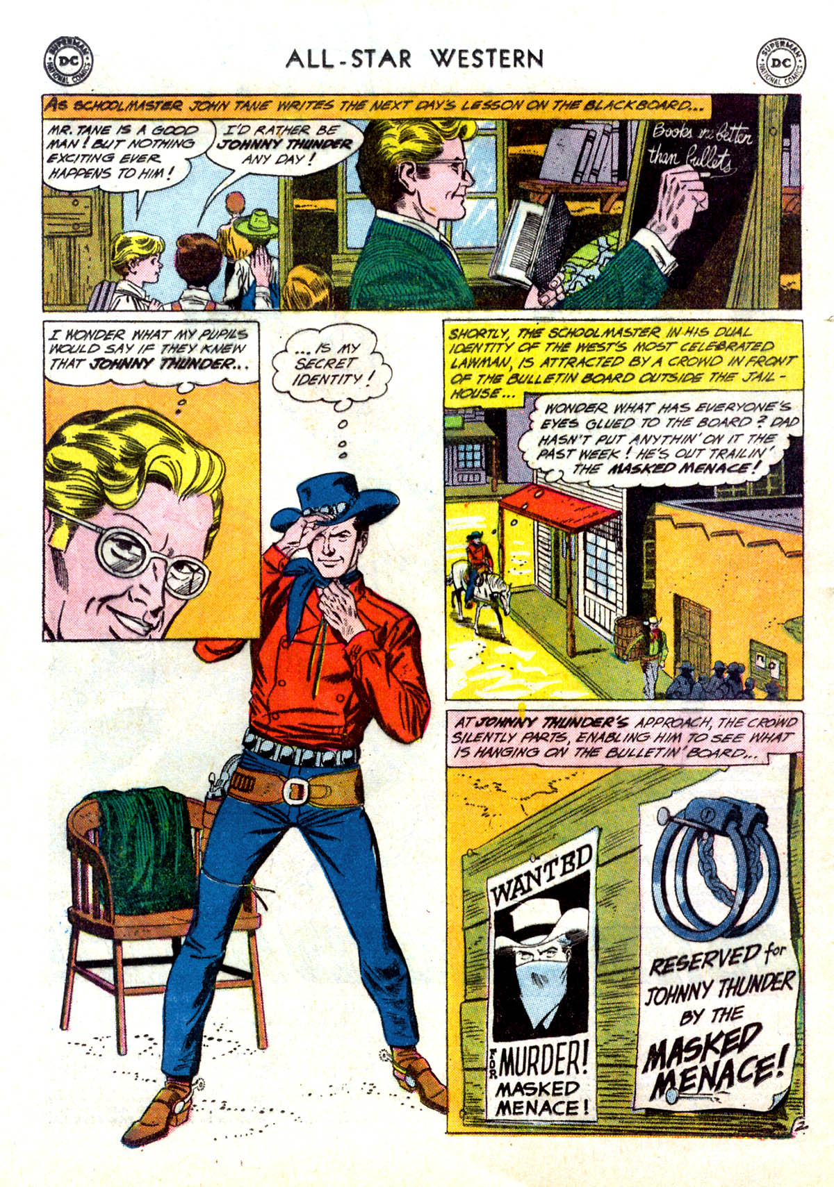 Read online All-Star Western (1951) comic -  Issue #116 - 4