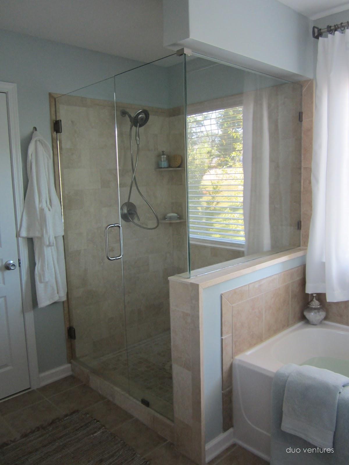 Duo Ventures Master Bathroom Makeover
