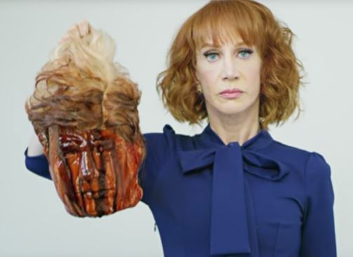 I Am No Longer Under Investigation For Imitating President Trump's Beheading - Kathy Griffin