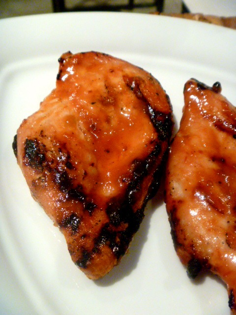 Spicy sweet grilled chicken that will make you want to sing! Perfect for late summer grilling.  -Slice of Southern