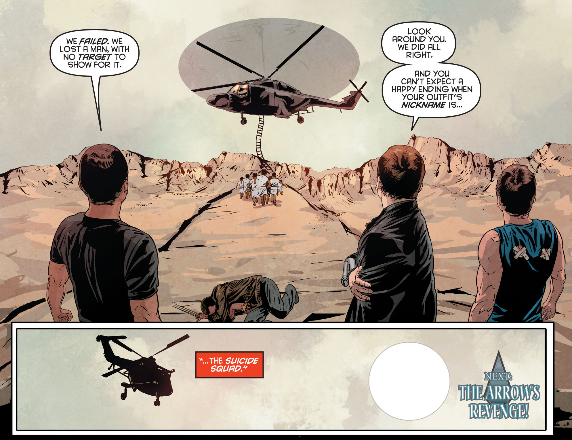 Read online Arrow: Season 2.5 [I] comic -  Issue #12 - 22
