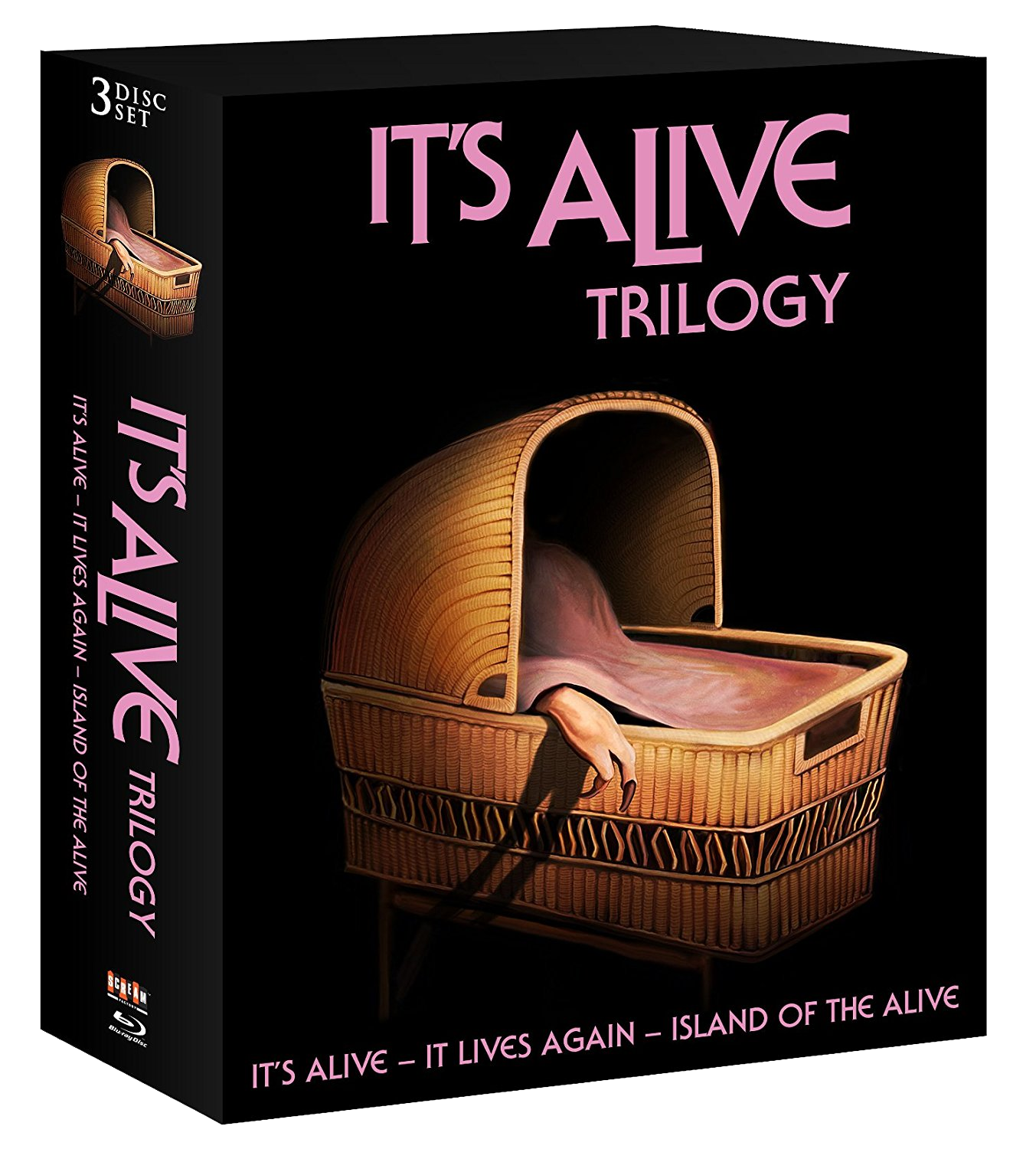 THE B-MOVIE NEWS VAULT: Larry Cohen's IT'S ALIVE TRILOGY