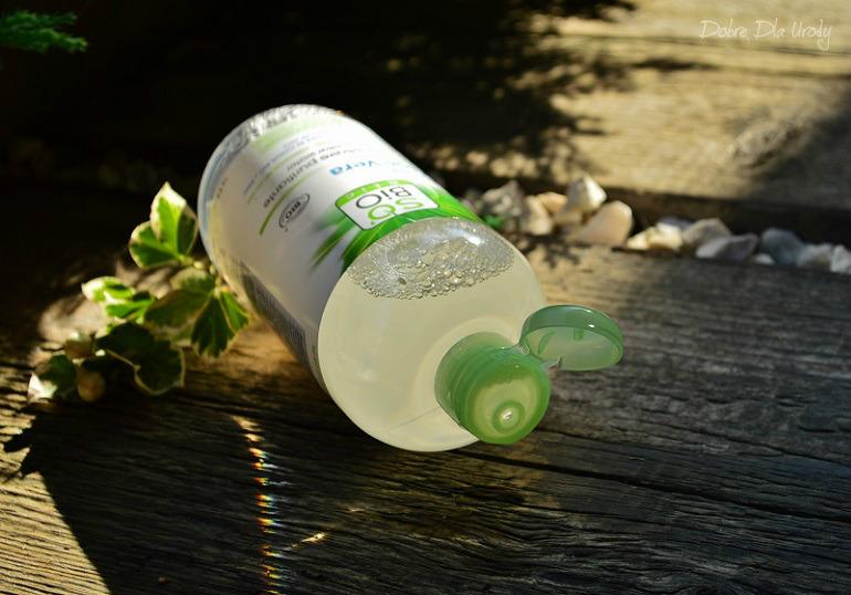 SO BIO Oczyszczająca i matująca woda micelarna z aloesem