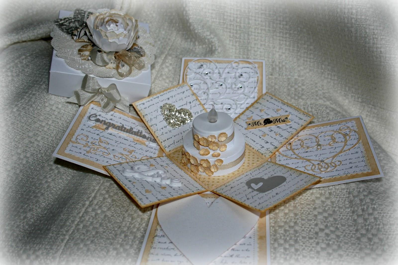 Wedding Anniversary Explosion Box Class With Denica