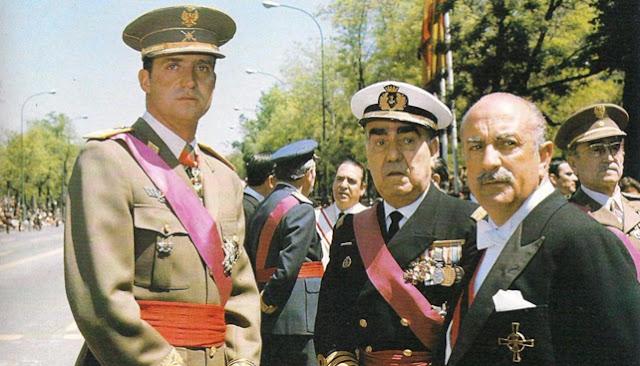 Juan Carlos y Carrero Blanco