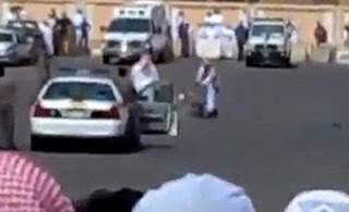 Public beheading in Saudi Arabia
