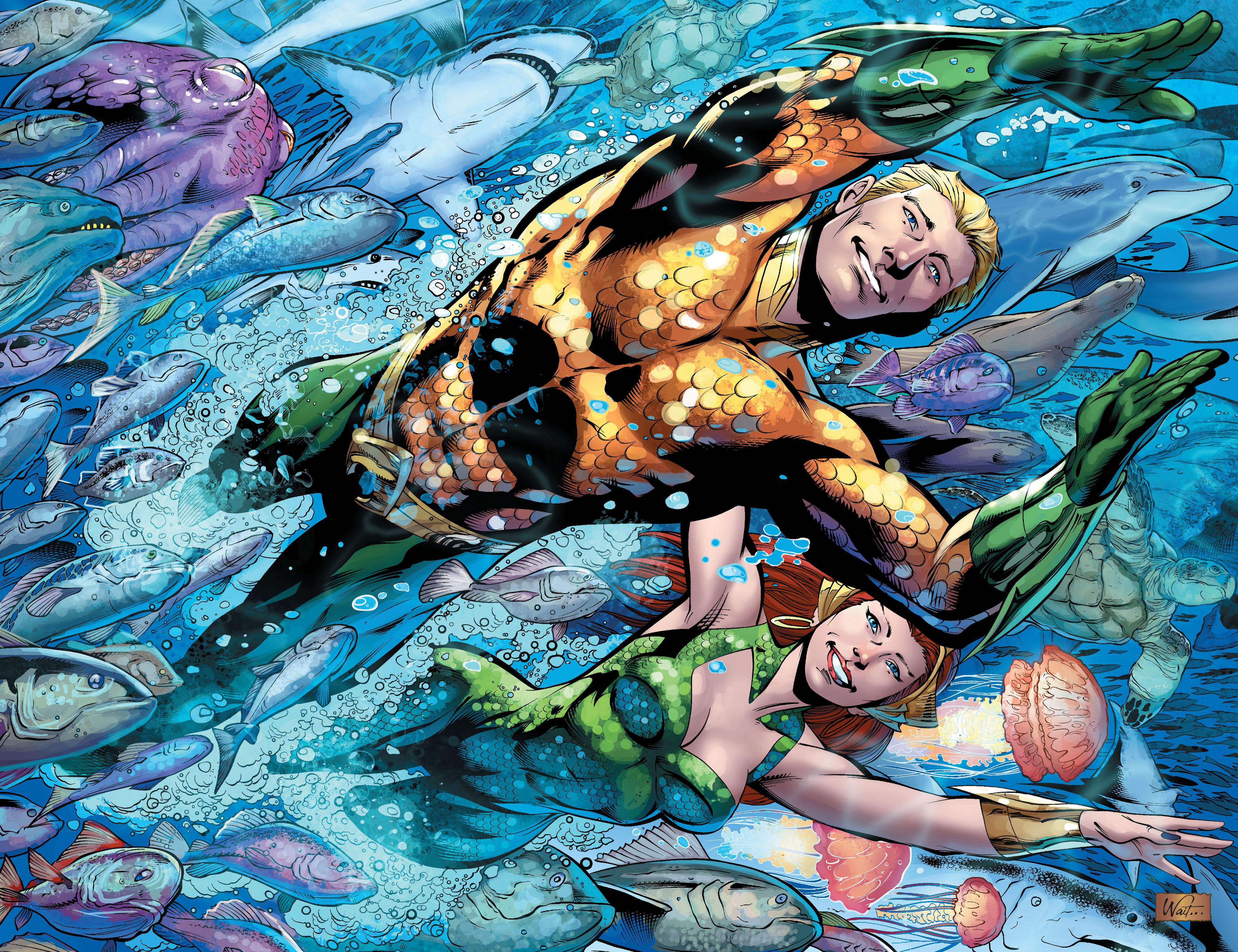 Read online Aquaman (2011) comic -  Issue #25 - 26