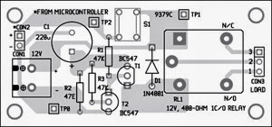 Tremendous Simple Power Saving Relay Driver Circuit Diagram Lekule Wiring 101 Akebretraxxcnl