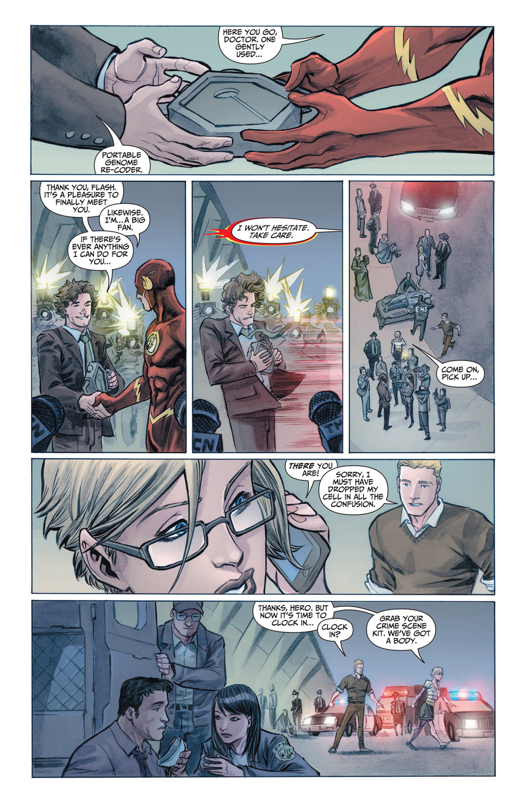 Read online The Flash (2011) comic -  Issue #1 - 12