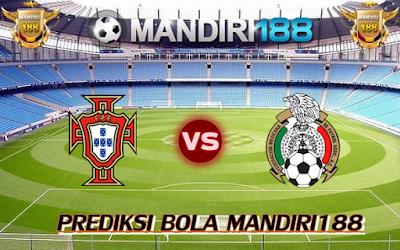 AGEN BOLA - Prediksi Portugal vs Meksiko 2 Juli 2017