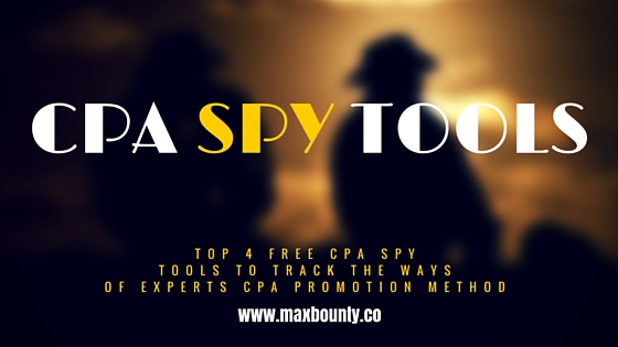 Top 4 Spy Tools For Affiliate Marketers