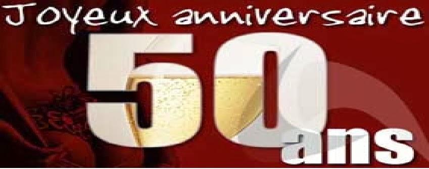 Texte joyeux anniversaire 50 ans