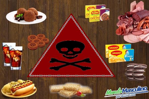 10 alimentos que você deve parar de comer imediatamente