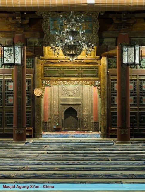 Rindu Masjid Masjid Agung Xi An China