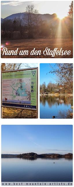 Wanderung rund um den Staffelsee Murnau - Badesee-Bayern- Zugspitz-Region