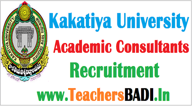KU,Kakatiya University,Academic Consultants