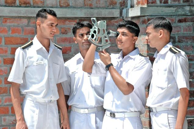Procedure to join Merchant Navy course after completion of B Sc?