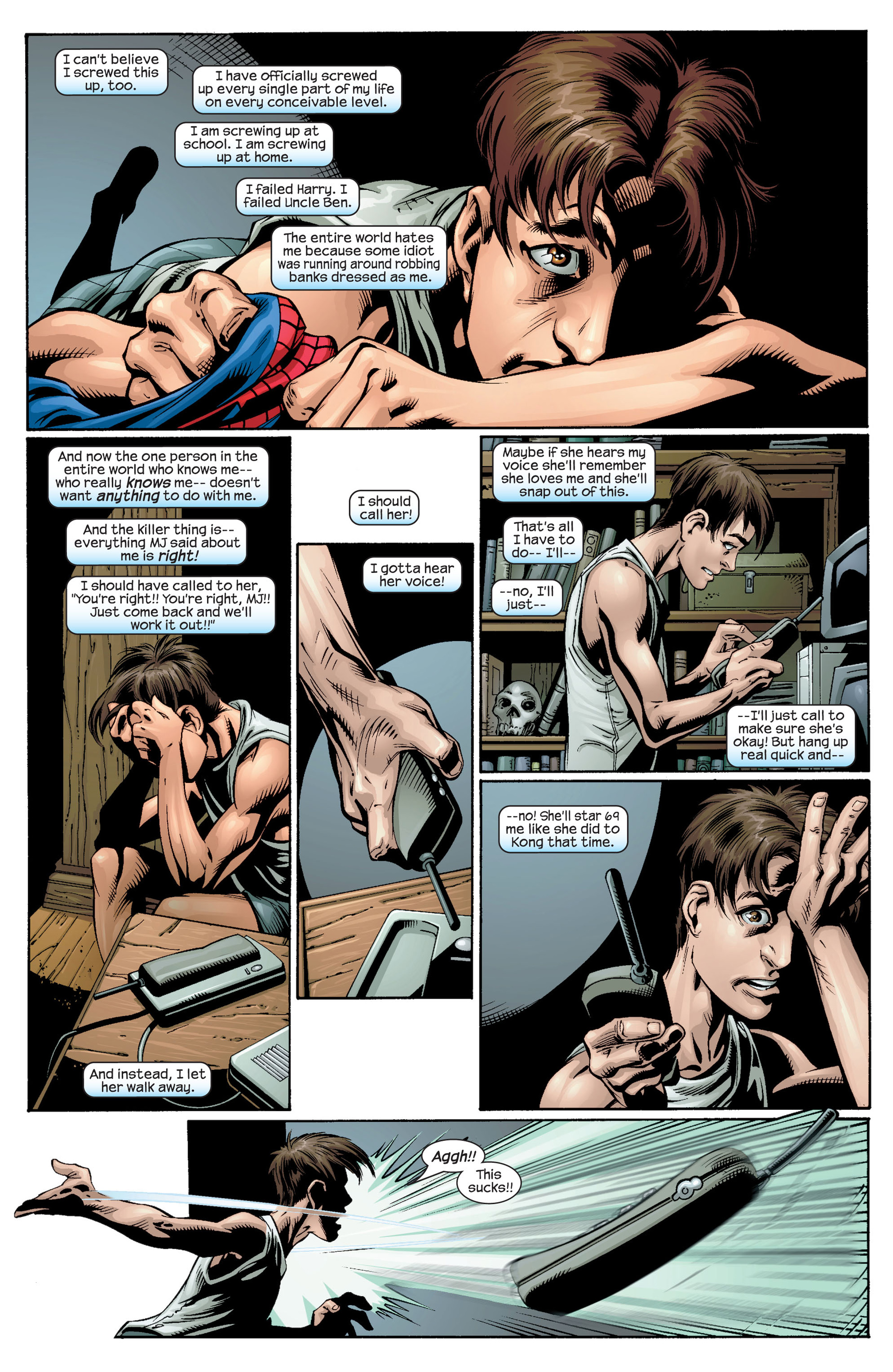 Read online Ultimate Spider-Man (2000) comic -  Issue #33 - 4