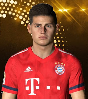 PES 2017 Faces James Rodriguez by Facemaker Ahmed El Shenawy