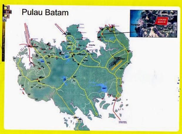 Inilah Peta Lokasi MAN IC Kota Batam Di Kel. Sambau - Kel ...