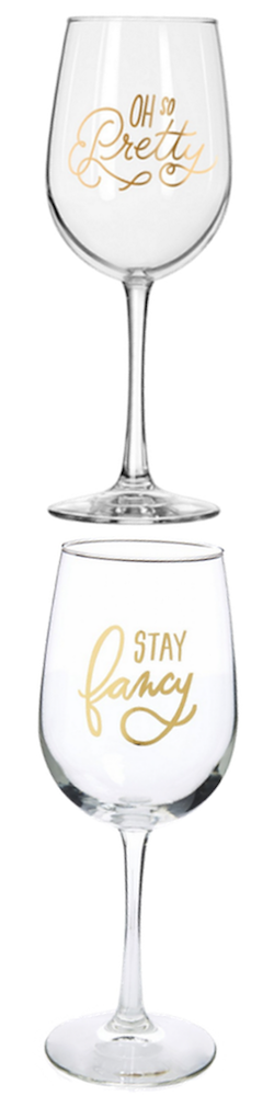 Easy, Tiger Wine Glasses