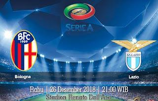 Prediksi Bologna vs Lazio 26 Desember 2018
