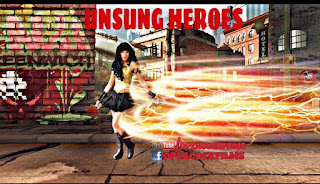 UNSUNG HEROES - HEATHER ROYALE POSES FOR THE CAMERA