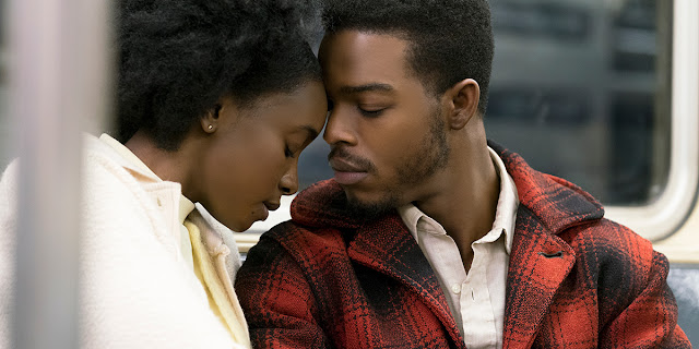 Kiki Layne and Stephan James in If Beale Street Could Talk from Barry Jenkins based on the book by James Baldwin