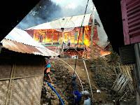 Diduga Korsleting, Kebakaran di Renda Hanguskan 8 unit Rumah Warga