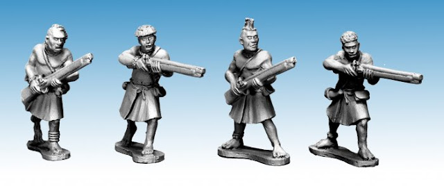 Northstar Miniatures: New Darkest Africa Ruga Ruga