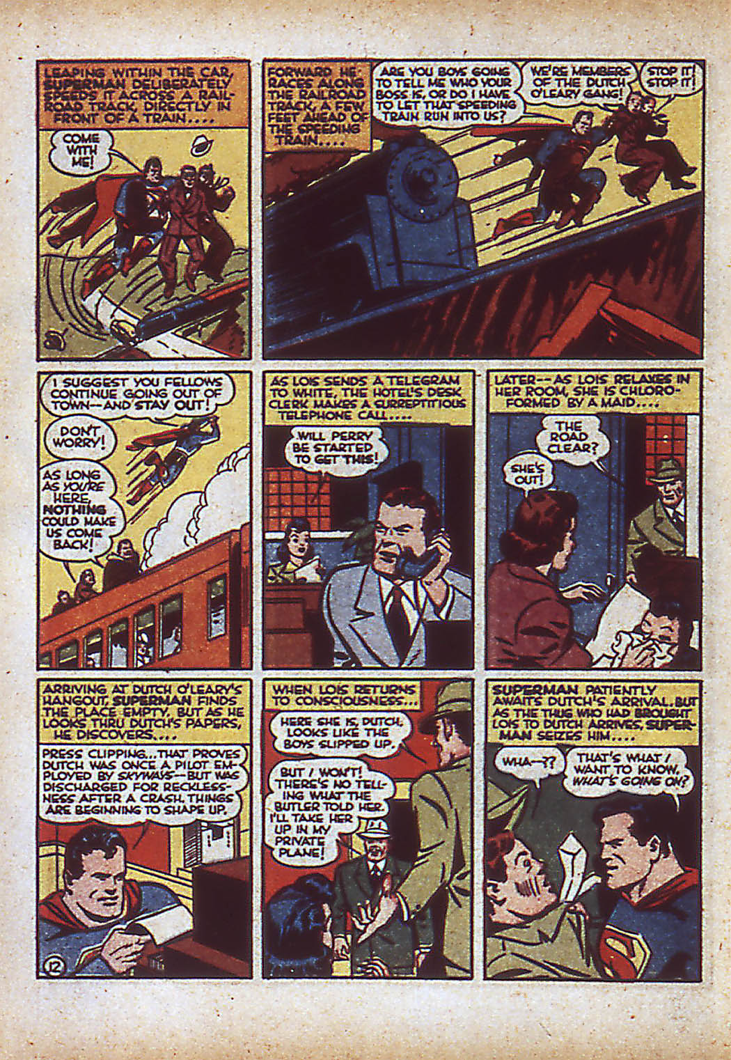 Read online Action Comics (1938) comic -  Issue #43 - 14