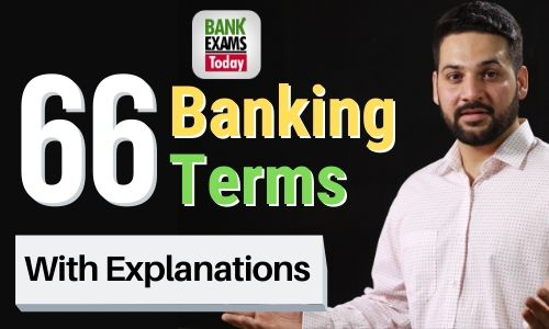 66 Banking Terms for Competitive Exams
