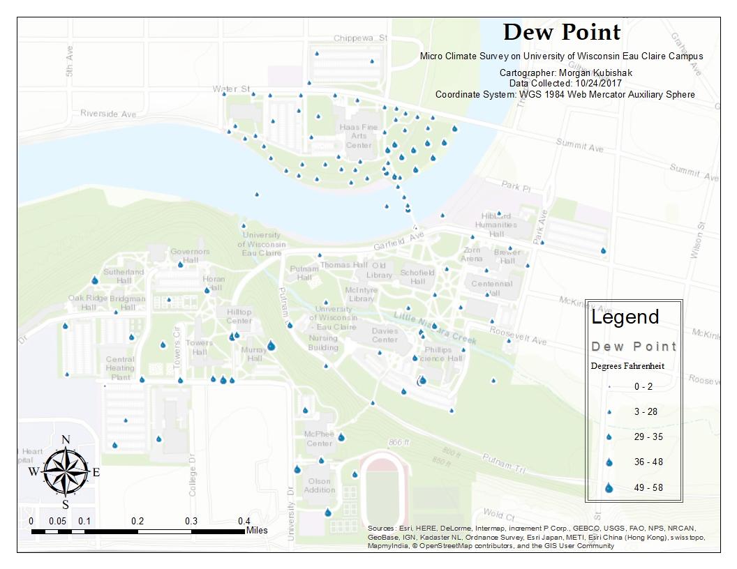 figure 8 dew point map