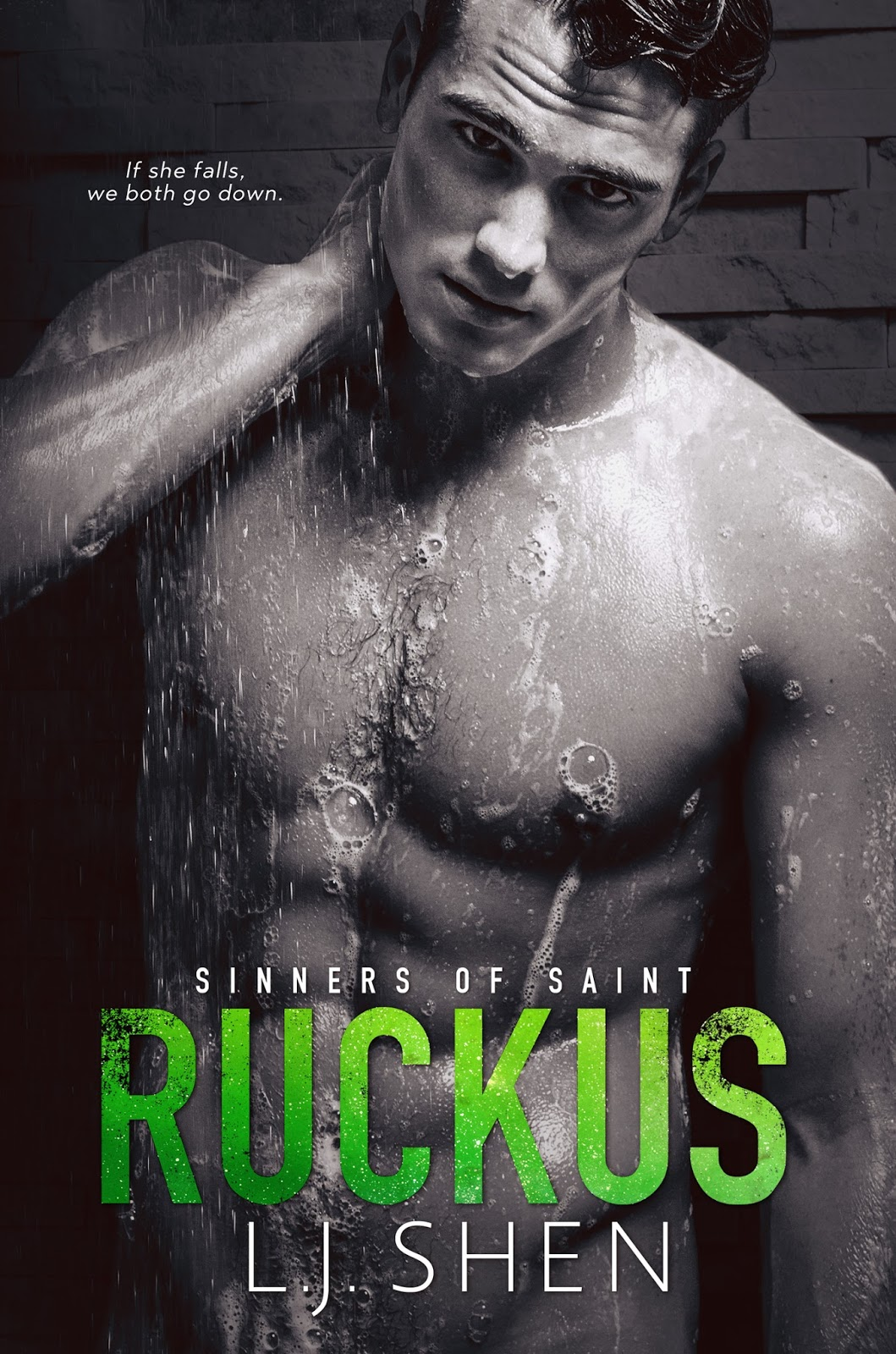 Ruckus By Lj Shen Cover Reveal