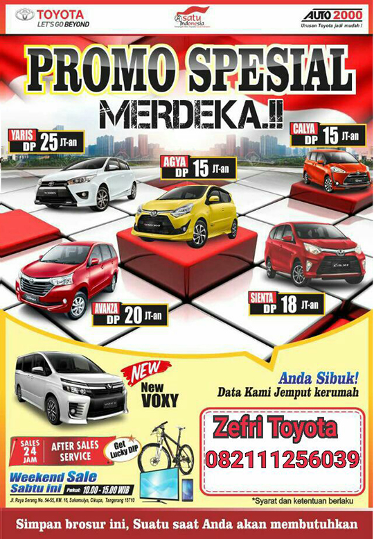 Toyota Tanah Tinggi Tangerang