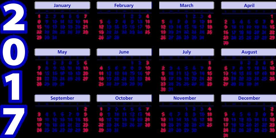 Kalendar 2017 | 2016 Blank Calendar - calendar en - WWW ...