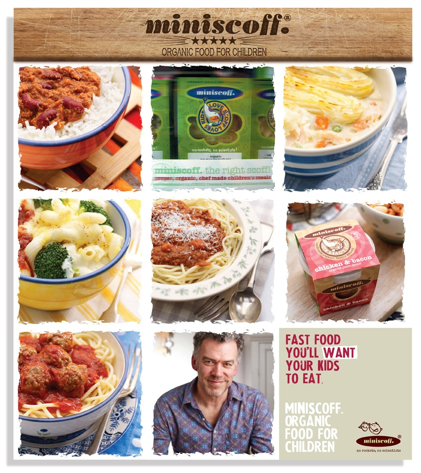 Miniscoff Organic Meals