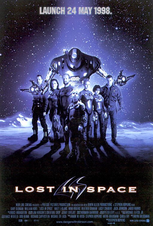 Lost in Space movie poster