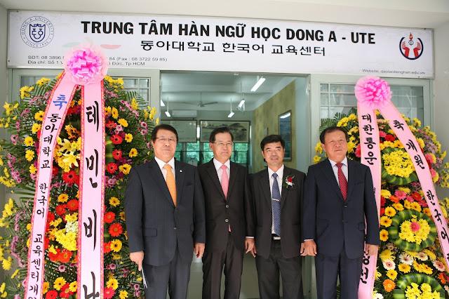 Trung Tâm Hàn Ngữ Dong A – UTE