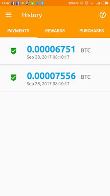 bukti payout bitcoin 2017